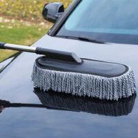 纤维汽车蜡拖擦车拖把 车上掸子轿车清洁除尘刷子 洗车用品车掸擦车拖把车用蜡拖