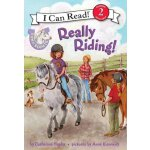 英文原版 儿童分级读物 I Can Read: Level 2: Pony Scouts: Really Riding