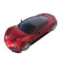 路奈 汽车载单独 电子狗GPS 导航仪 固定移动流动雷达测速预警 CX-6红色