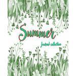 预订 Journals Summer: Green collection Floral Diary Notebook