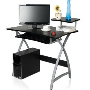 [当当自营]慧乐家 新型办公电脑台 黑色 22005-1
