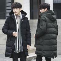 【限量抢购,好质量】冬装保暖加厚棉衣男中长款青年棉服外套棉袄上衣服潮