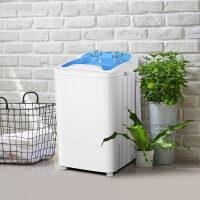 洗衣机半自动 XPB45-Q120 婴儿洗衣机小型迷你 儿童宝宝袜子内衣赠沥水桶 冰雪蓝