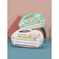 儿童电子琴玩具早教婴儿音乐女孩宝宝初学钢琴多功能3琴0-1岁