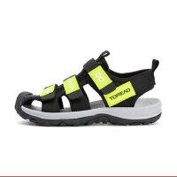 【3.8折价:113元】探路者童鞋 2021春夏新品户外男女通款织带凉鞋QFKJ85907