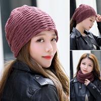 时尚冬季保暖加绒针织帽子坐月子帽包头睡帽产后秋天孕妇帽子
