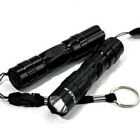 强光手电筒可充电LED远射王迷你手提探照灯家用户外骑行防水小手电 电池手电筒LED家用