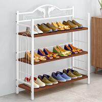 鞋架宿舍多层简易防尘家用鞋架子经济型组装门口鞋柜收纳鞋架