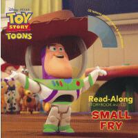 Read-Along系列:Toy Story Toons: Small Fry 玩具总动员:小玩具(书+CD) ISB