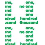 预订 One, No One and One Hundred Thousand [ISBN:9783956792908