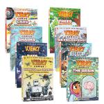 【顺丰包邮】英文原版 Science Comics科学漫画系列7册合售 Wild Weather: Storms狂野的