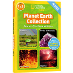 National Geographic Kids Planet Earth collection 4个地球故事合辑 L