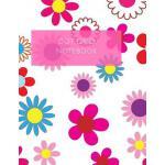 预订 Dot Grid Notebook: Flower Cover - 180 Pages (Dot Paper)