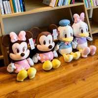 正版米奇米妮米老鼠公仔毛绒玩具唐老鸭公仔布娃娃超软儿童玩偶女