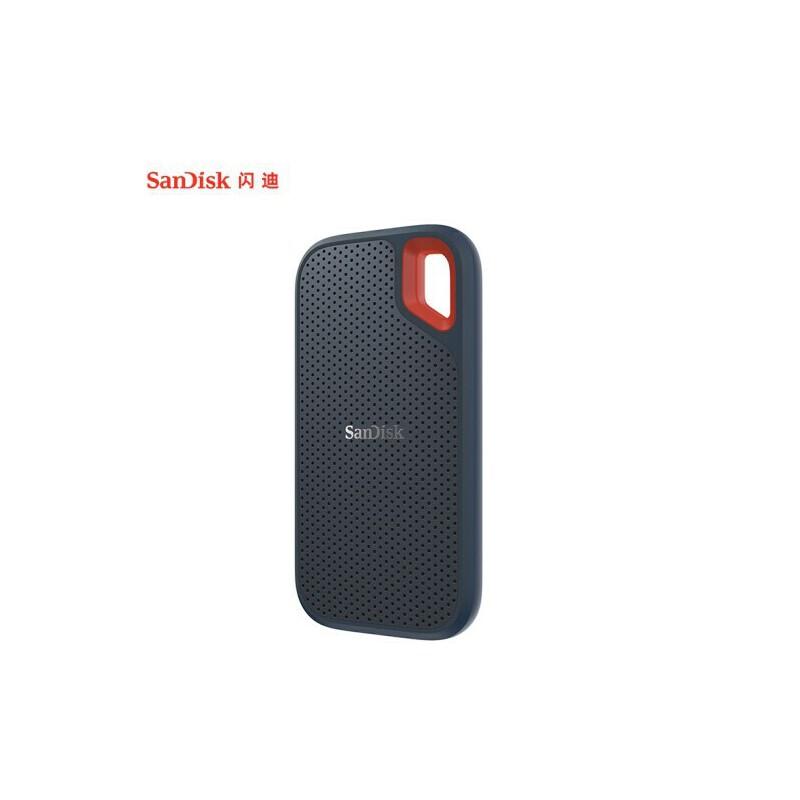 闪迪(SanDisk)500G Type-c 移动固态硬盘(PSSD)极速移动版 传输速度550MB/s 轻至40g IP55等级三防保护 传输和读取速度都是550MB/s哦