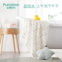 全棉时代婴童6层水洗绗缝纱布浴巾115cm×115cm1件装