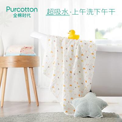 全棉时代  婴童6层水洗绗缝纱布浴巾115cm×115cm1件装