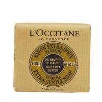L'occitane/欧舒丹 乳木果马鞭草护肤香皂 100g 植物配方 温和
