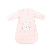 2019粉色婴儿针织微厚长袖睡袋70cm×50cm, 1件装