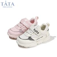 【券后价:117.7元】他她Tata童鞋女童宝宝鞋运动秋季轻便软底幼童休闲运动鞋