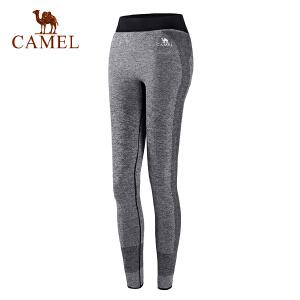 camel骆驼女款运动瑜伽长裤 休闲舒适健身女款针织长裤