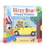 【发顺丰】英文原版 小熊很忙系列绘本Bizzy Bear Happy Holiday 开心假日 幼儿童英语启蒙认知游戏
