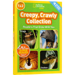 National Geographic Kids Creepy Crawly Collection 4个故事合辑 L1
