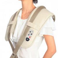 维康 养身 颈肩按摩器 按摩披肩 肩背敲击按摩带 按摩背带