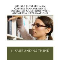 【�A�】201 SAP Hcm (Human Capital Management) Interview Questio