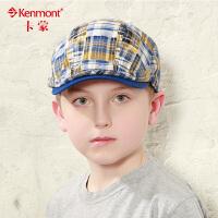 童帽 儿童男女鸭舌帽户外遮阳帽 韩版宝宝贝雷帽春秋婴儿帽子4864