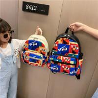 儿童背包潮男孩子轻便可爱幼儿园书包户外旅行小学生女帆布双肩包