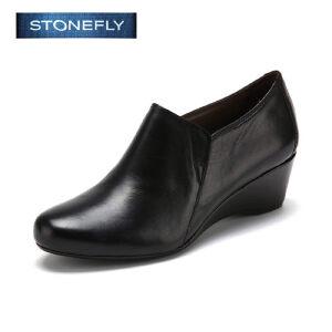 【3折到手价101.7元】STONEFLY/斯通富来休闲简约纯色时尚百搭女深口单鞋SD43112000