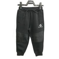 Converse匡威儿童 童装中童男童拼接百搭加绒运动裤CV2042026PS-001