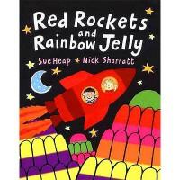 英文原版 Red Rockets and Rainbow Jelly红火箭和彩虹果冻 4-6岁