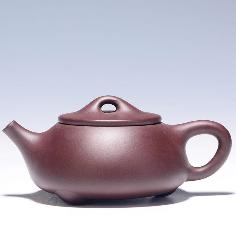 【助理工艺美术师】范惠英 《石瓢》紫泥 GJ007   A2