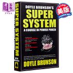 【中商原版】超级系统 英文原版 Doyle Brunson's Super System