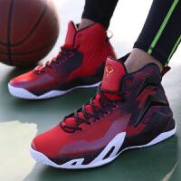 乔丹篮球鞋男高帮耐磨防滑运动鞋冬季学生球鞋战靴鞋子XM1570101