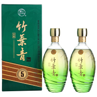 【酒界网】汾酒  38度 特酿竹叶青 500ml * 2瓶   白酒
