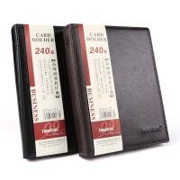 喜通活页名片册商务名片本卡包收纳册男式名片簿大容量600名片夹