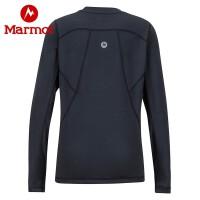 Marmot/土拨鼠运动户外保暖舒适圆领干衣男童保暖内衣
