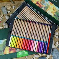 秘密花园 填色 马可雷诺阿3120-48色水溶性彩色铅笔 铁盒装彩铅