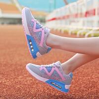 领舞者女鞋新款女跑步鞋透气增高慢跑鞋运动鞋女