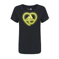 ADIDAS阿迪达斯女装 运动休闲短袖T恤 AI6166 现