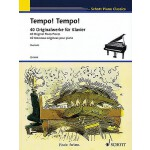 预订 Tempo! Tempo!: 40 Original Piano Pieces Schott Piano Cla