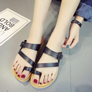 ELEISE美国艾蕾莎新品061-818休闲女士凉拖鞋