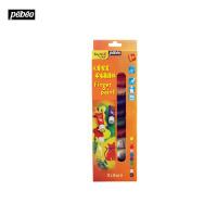 法国贝碧欧Pebeo儿童手指画颜料管状套装绘画文具早教12色636802C