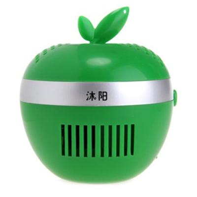 沐阳USB空气过滤器香薰机MY903绿 迷你空气净化器 轻松应对雾霾