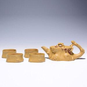 工艺美术师  史国棠 《小铁梅套壶》芝麻段泥 GJ002
