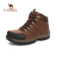 camel骆驼男款登山鞋 秋冬新款 防滑减震高帮徒步登山鞋