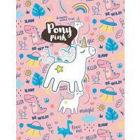 预订 Pony Pink: Cute Unicorn Notebook For Girls With Glossy C